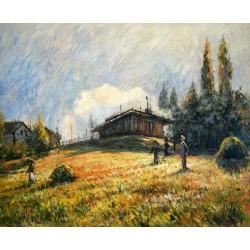 La estación de Sevres de Sisley