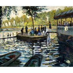 La Grenouillere de Monet