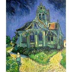 La iglesia de Auvers de Van Gogh