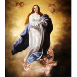 La Inmaculada de El Escorial de Murillo