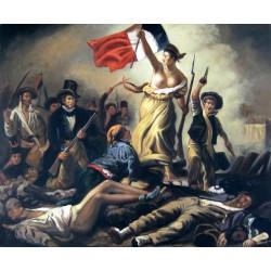 La libertad guiando al pueblo de Delacroix