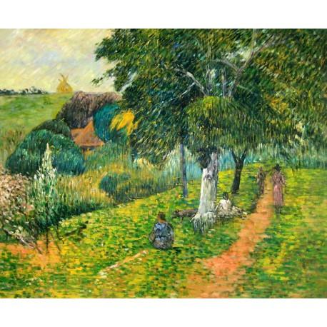 La Martinica, Idas y venidas de Gauguin