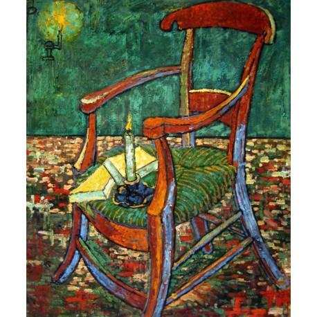La silla de Gauguin de Van Gogh