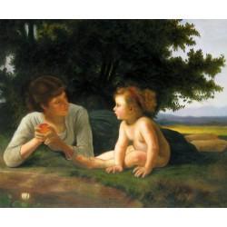 La Tentación de Bouguereau
