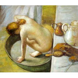La tina, la bañera (the tub) de Degas