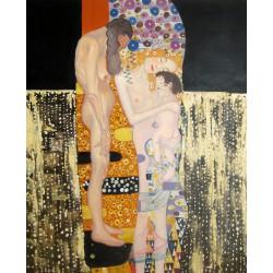 Las tres edades de la mujer de Klimt
