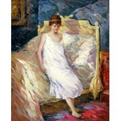 Levantándose de Morisot