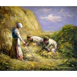 Los gavilladores de Millet