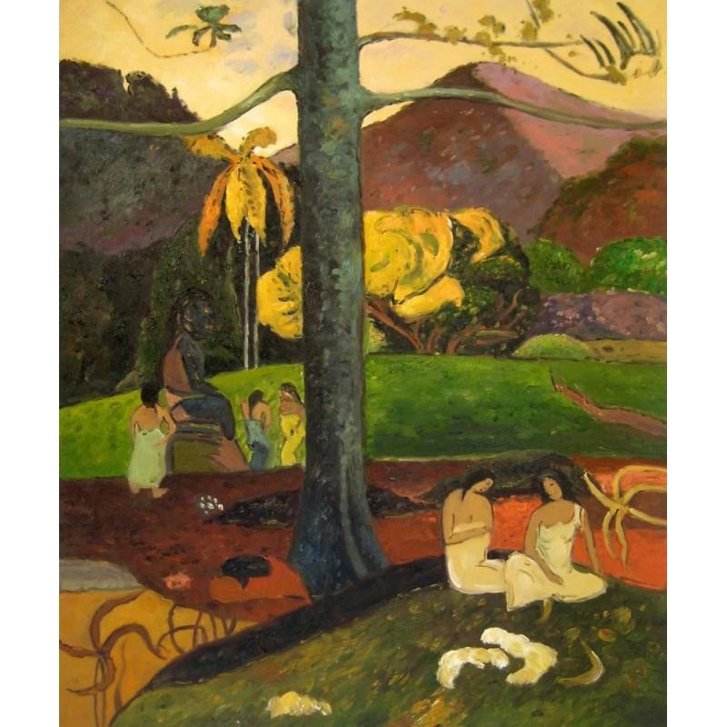 Mata mua, Erase una vez de Gauguin | Artefamoso | Copias de cuadros ...