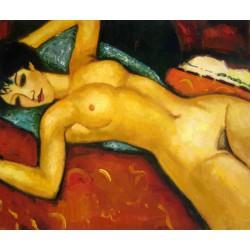 """Nu Couché"""" de Modigliani"""""""
