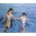 Niñas en el mar de Sorolla