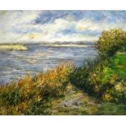 Orillas del Sena de Champrosay de Renoir