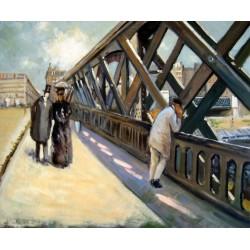 Puente de Europa de Caillebotte