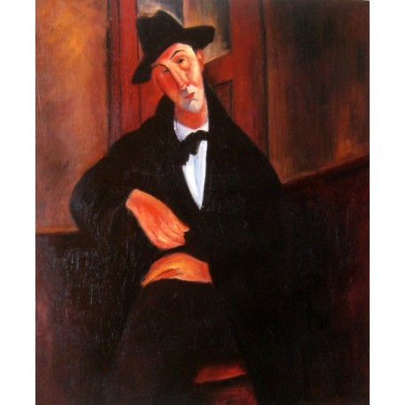 Retrato de Juan Gris de Modigliani