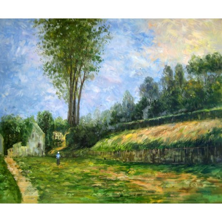 Rouen, Hombre en la carretera de Gauguin