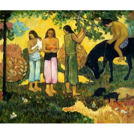 Ruperupe, Cogiendo fruta de Gauguin