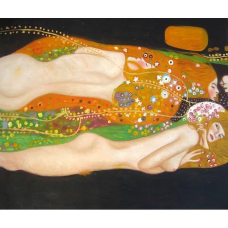Serpientes de agua de Klimt