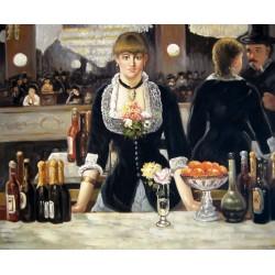 Un bar en Folies Bergere de Manet
