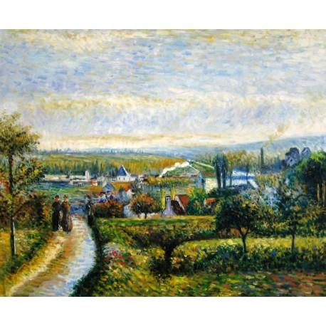 Vista de San Ouen de Pissarro