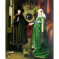 El matrimonio Arnolfini de Van Eyck
