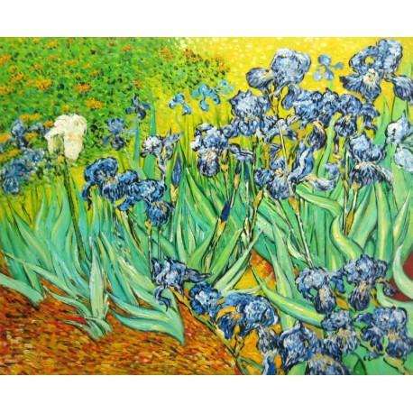 Los lirios de Van Gogh