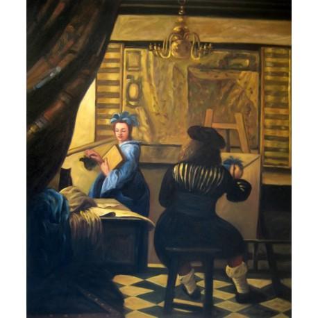 El arte de pintar de Vermeer