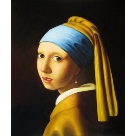 La chica del pendiente de perla de Vermeer