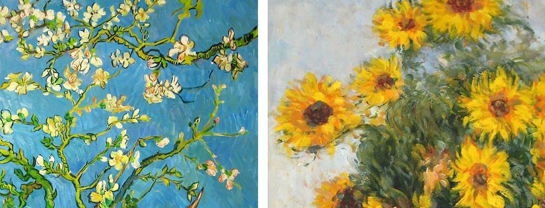 Nuestra selección de obras con flores