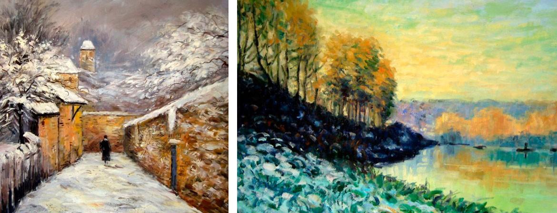Reproducciones al óleo sobre lienzo, textura original y materiales de primera calidad.
