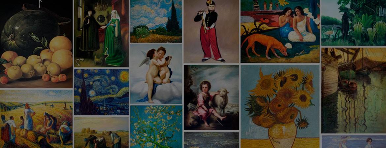 Artefamoso, tu tienda online de copias de obras a mano, encargos a medida y obras personalizadas desde 2004.